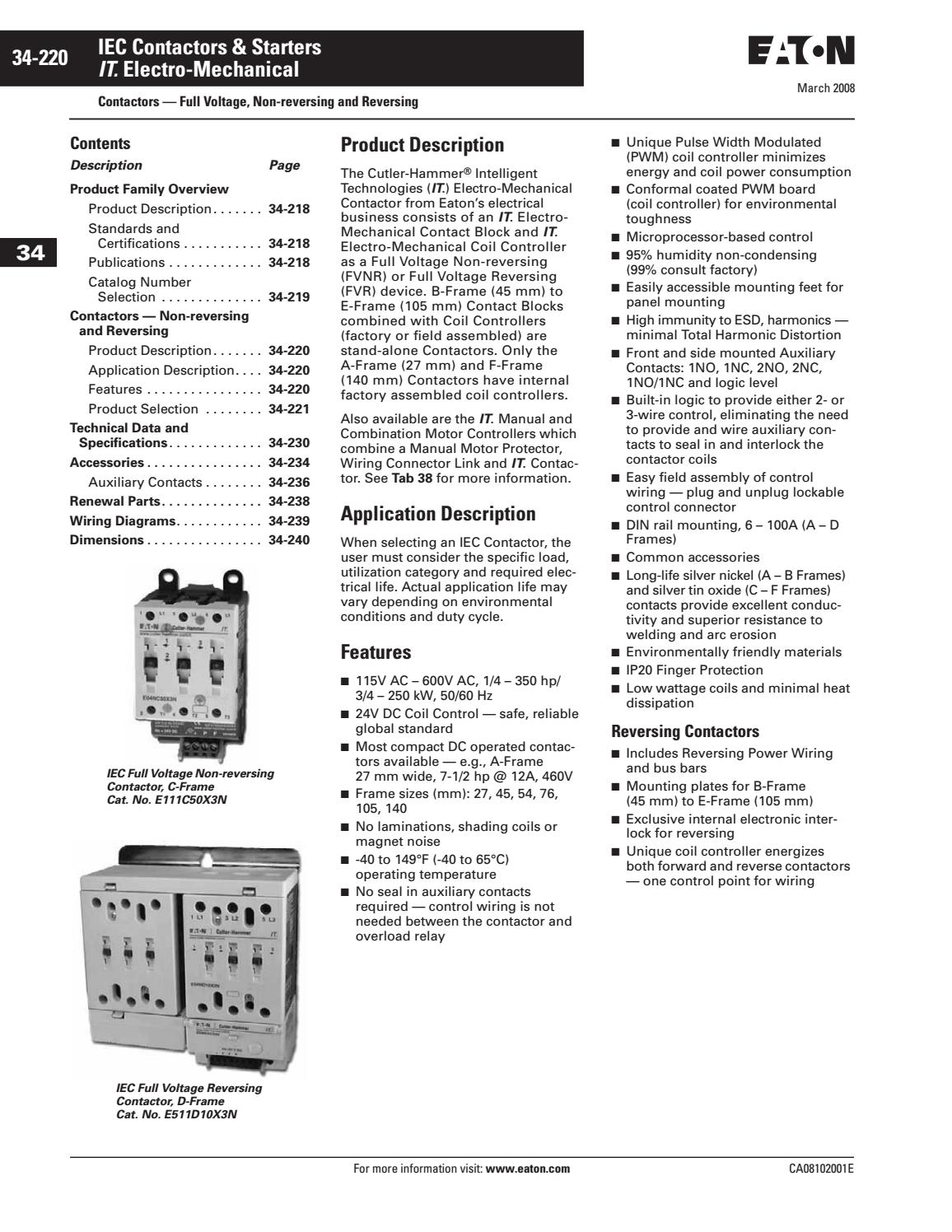 Reversing Contactor Wiring Diagram For Reversing Contactor By