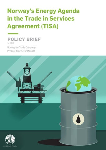 Norways Energy Agenda In The Trade In Services Agreement Tisa By