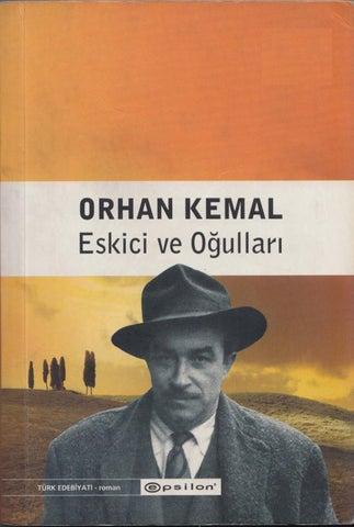 Orhan Kemal Eskici Ve Oğulları Epsilon Yayınları By Hasan öztürk Issuu