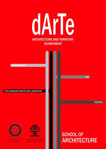 dossier department architecture and territory darte by tornatora
