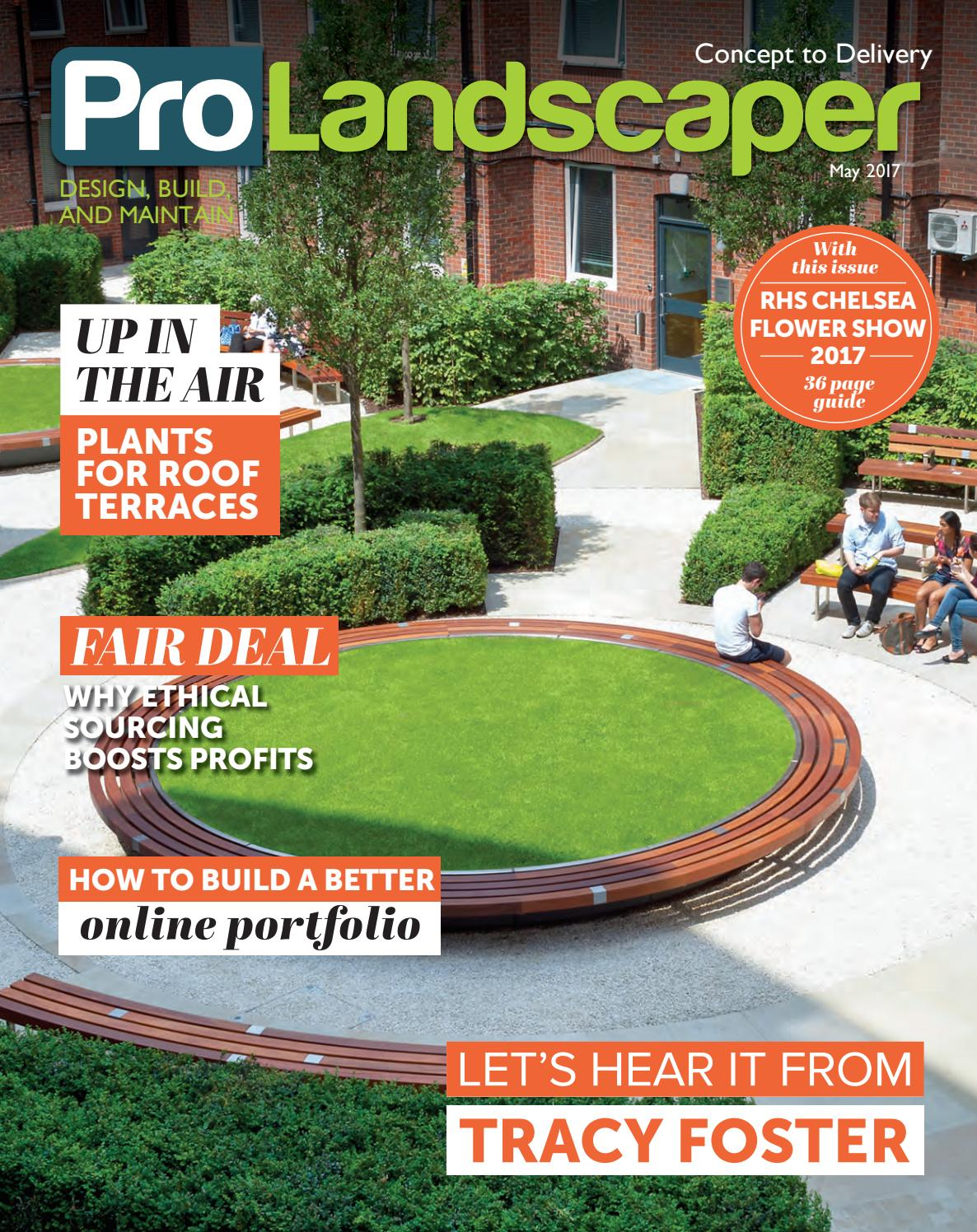 Pro Landscaper May 2017 By Eljays44 Issuu