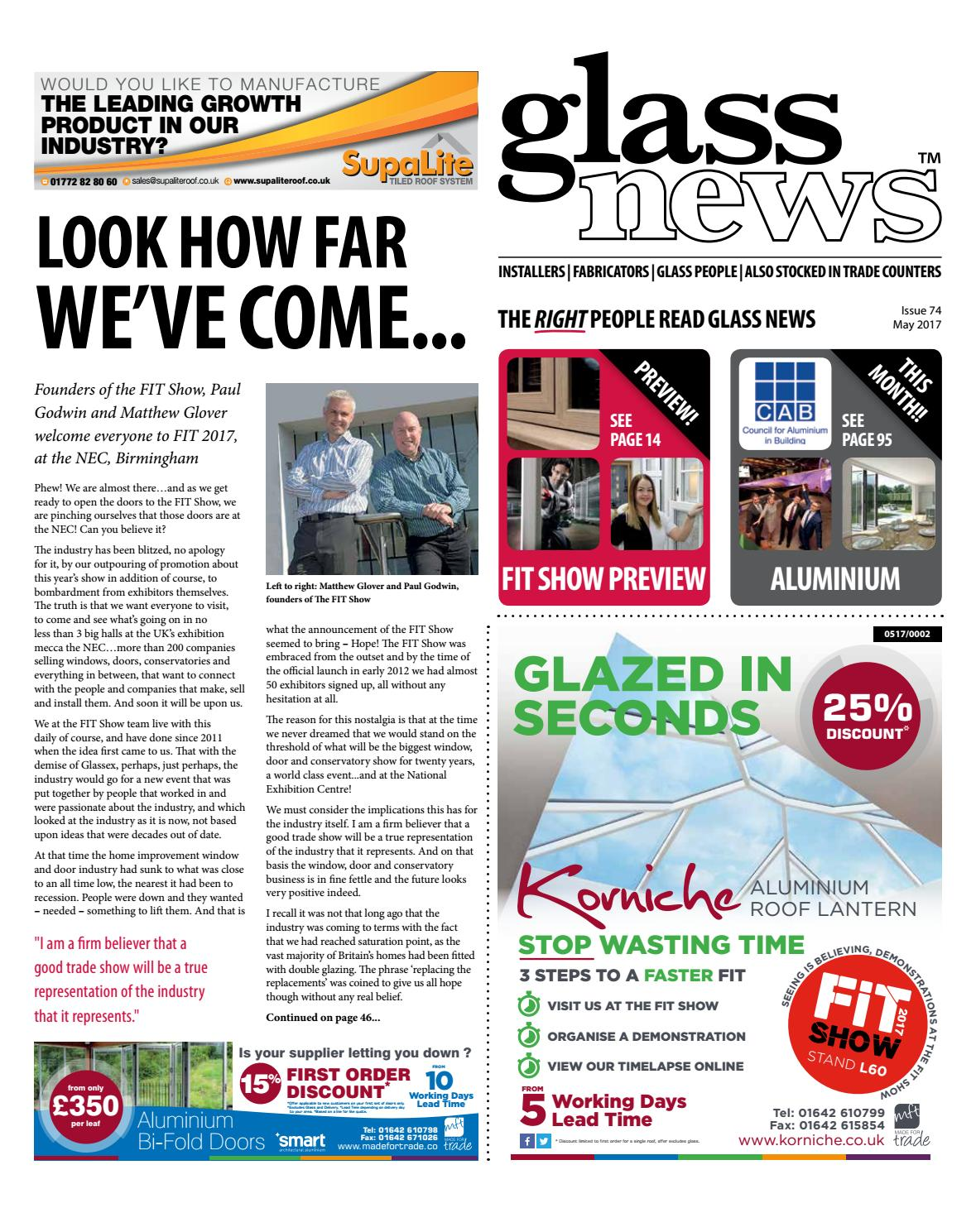 Glass News May 2017 by Christina Shaw - issuu