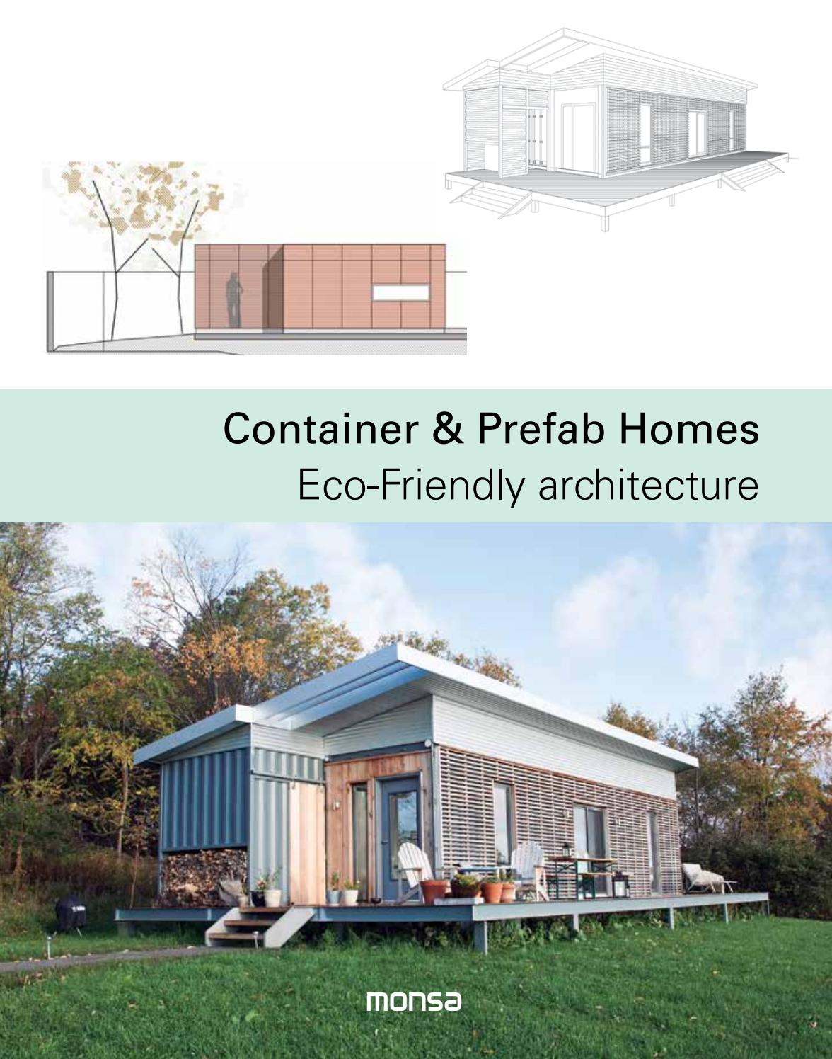 Container Prefab Homes Eco Friendly Architecture By Monsa Publications Issuu