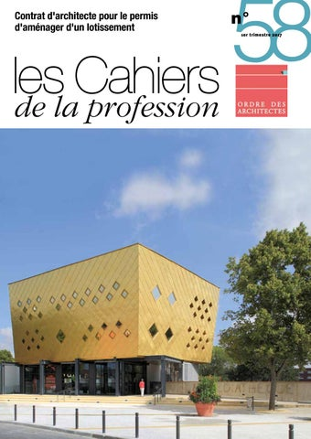 Cahiers De La Profession N By Cnoa  Issuu