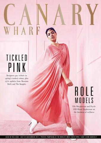 Canary Wharf Magazine May 2017