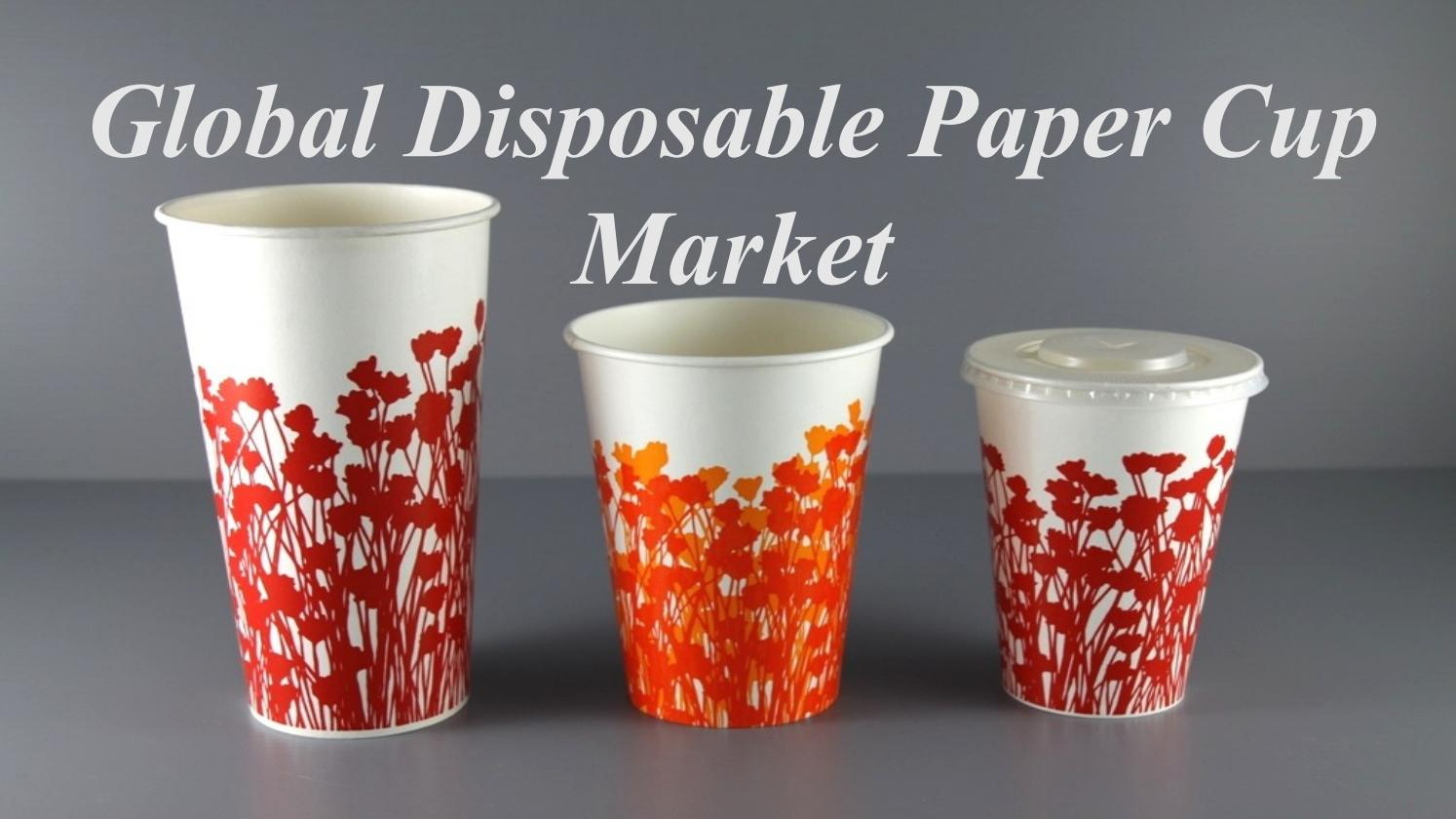 paper cup market research in india The global and china disposable paper cup industry 2017 market research report is a professional and in-depth study on the current state of the disposable paper cup.