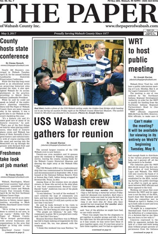 The Paper Of Wabash County May 3 2017 Issue By The Paper Of
