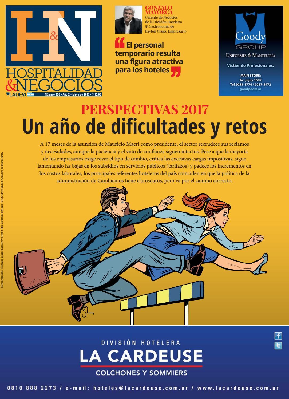 Hospitalidad y Negocios N° 126 by La Agencia de Viajes - issuu