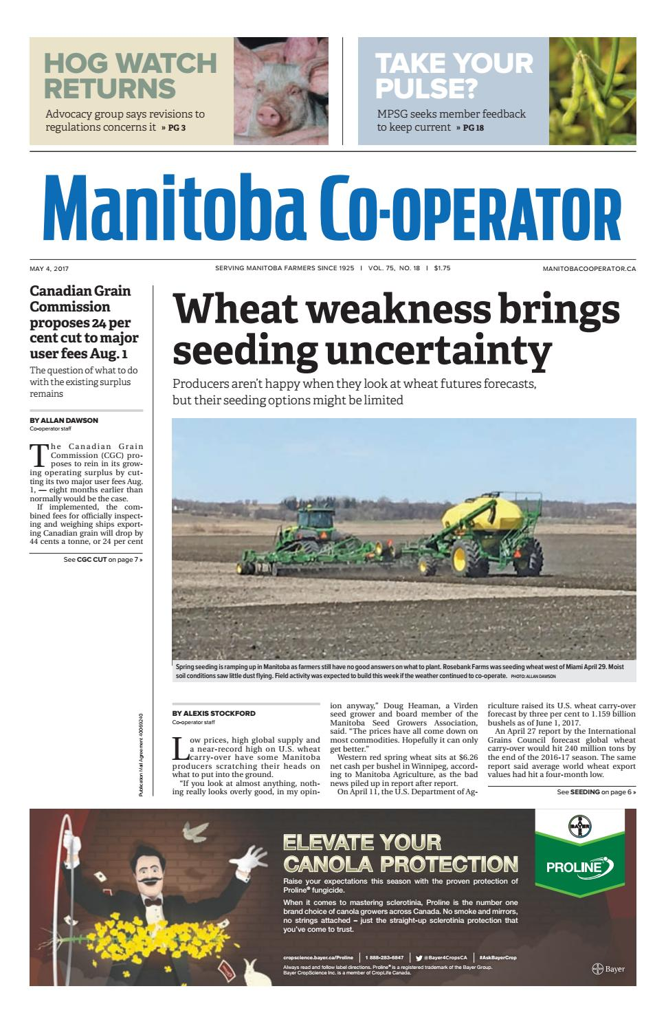 Manitoba Co Operator By Farm Business Communications Issuu