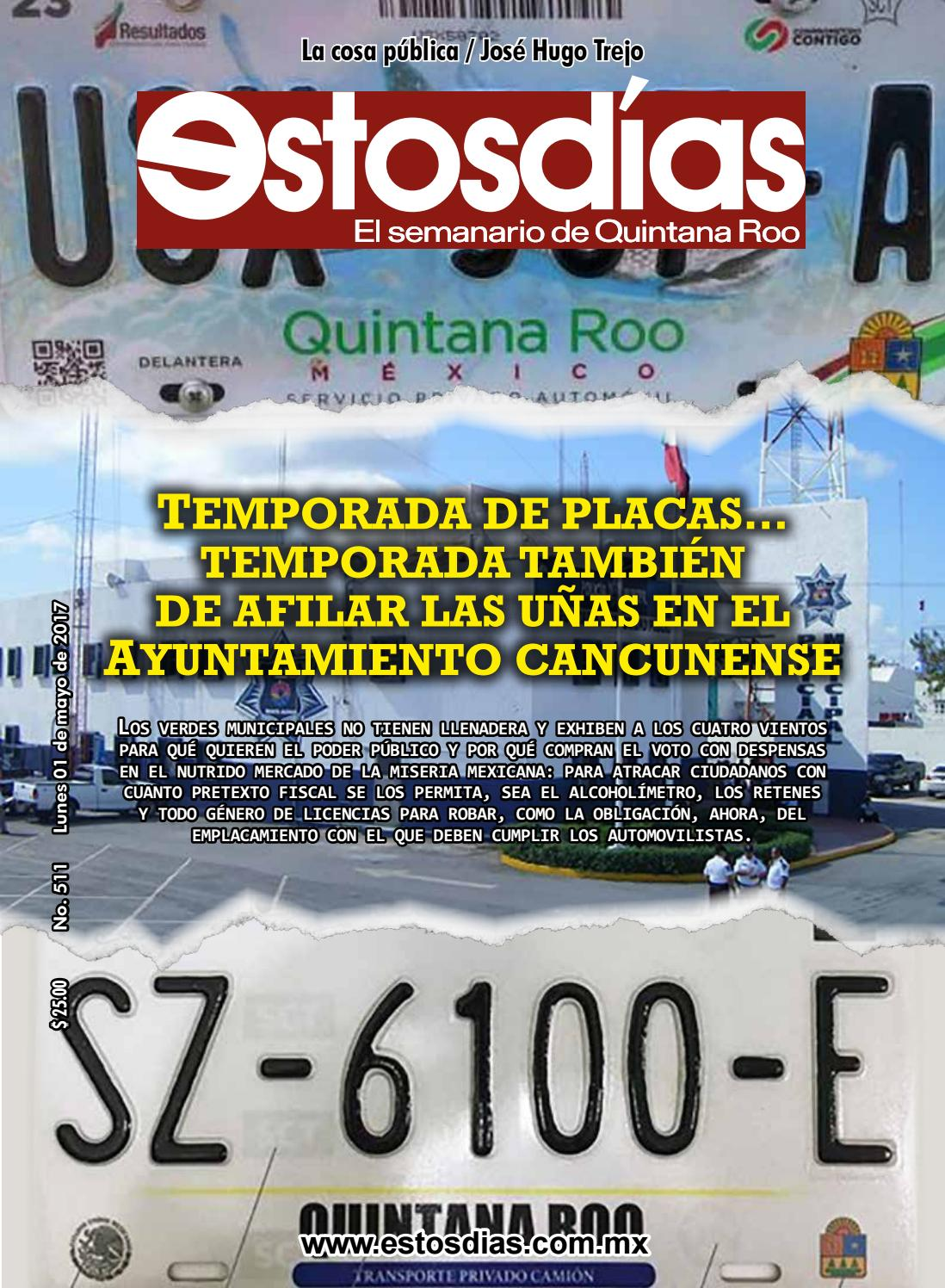Estosdías N° 511 by Estosdías S.A de C.V. - issuu