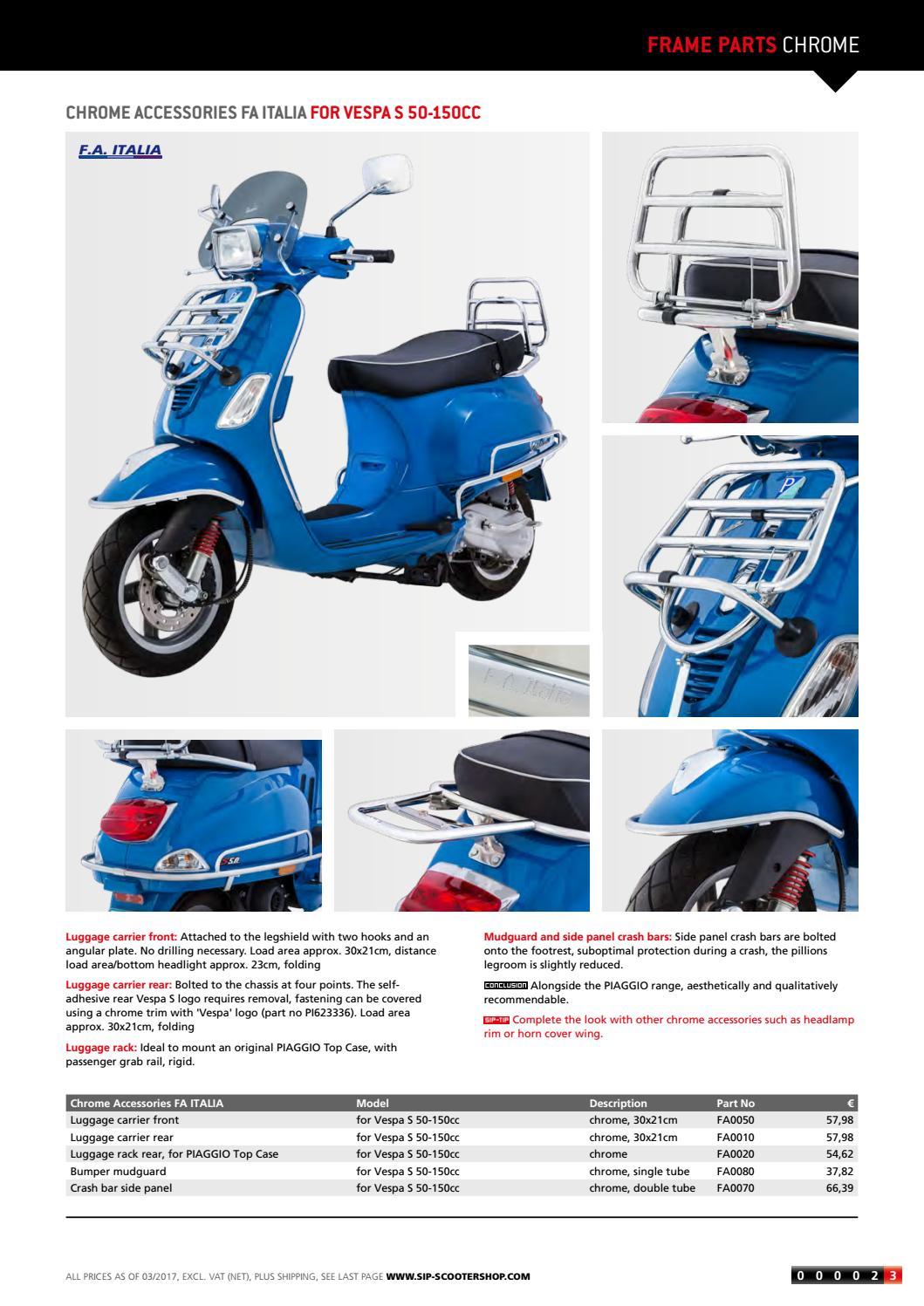 Modern Vespa Catalogue SIP Scootershop 2017/2018 by SIP Scootershop