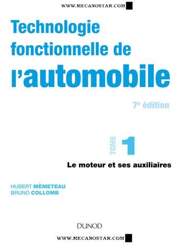 656ed7e5123a19 La technologie fonctionnelle de l automobile tome 1 7° édition by ...