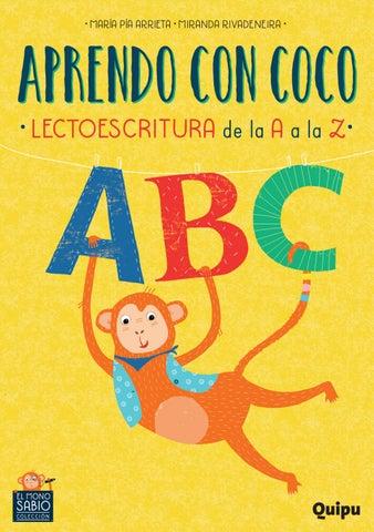 Aprendo Con Coco Lectoescritura De La A A La Z By Editorial Quipu