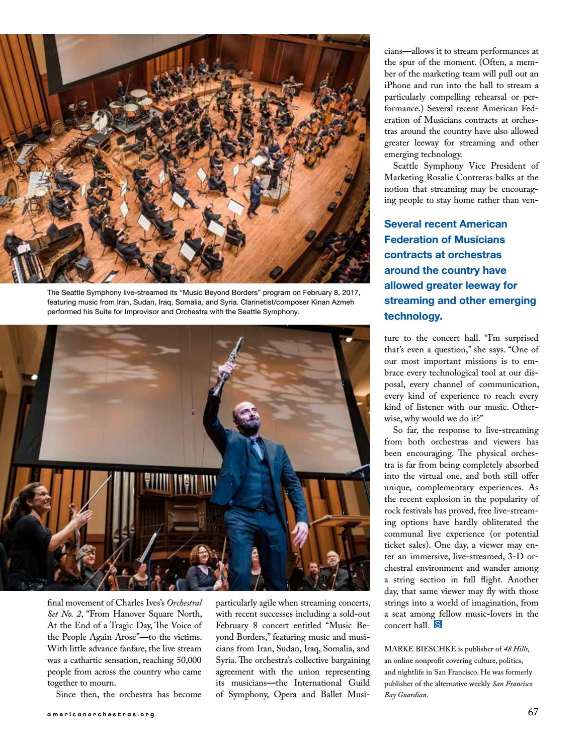 Symphony Spring 2017 by League of American Orchestras - issuu