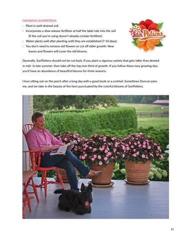 Page 41 of Sun Patiens at Moss Mountain Farm