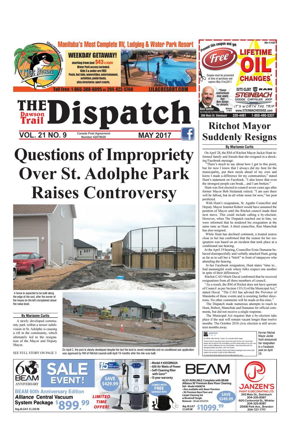 Dawson Trail Dispatch May 2017 By The