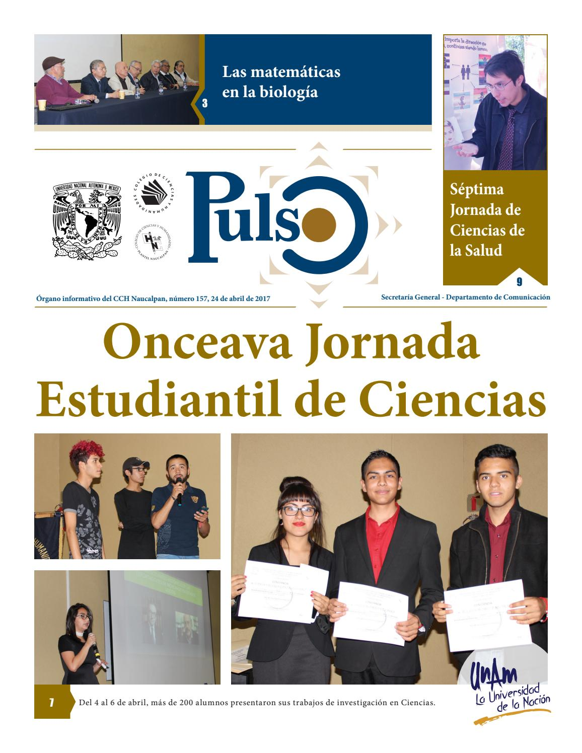 Pulso 157 by Pulso CCH Naucalpan - issuu