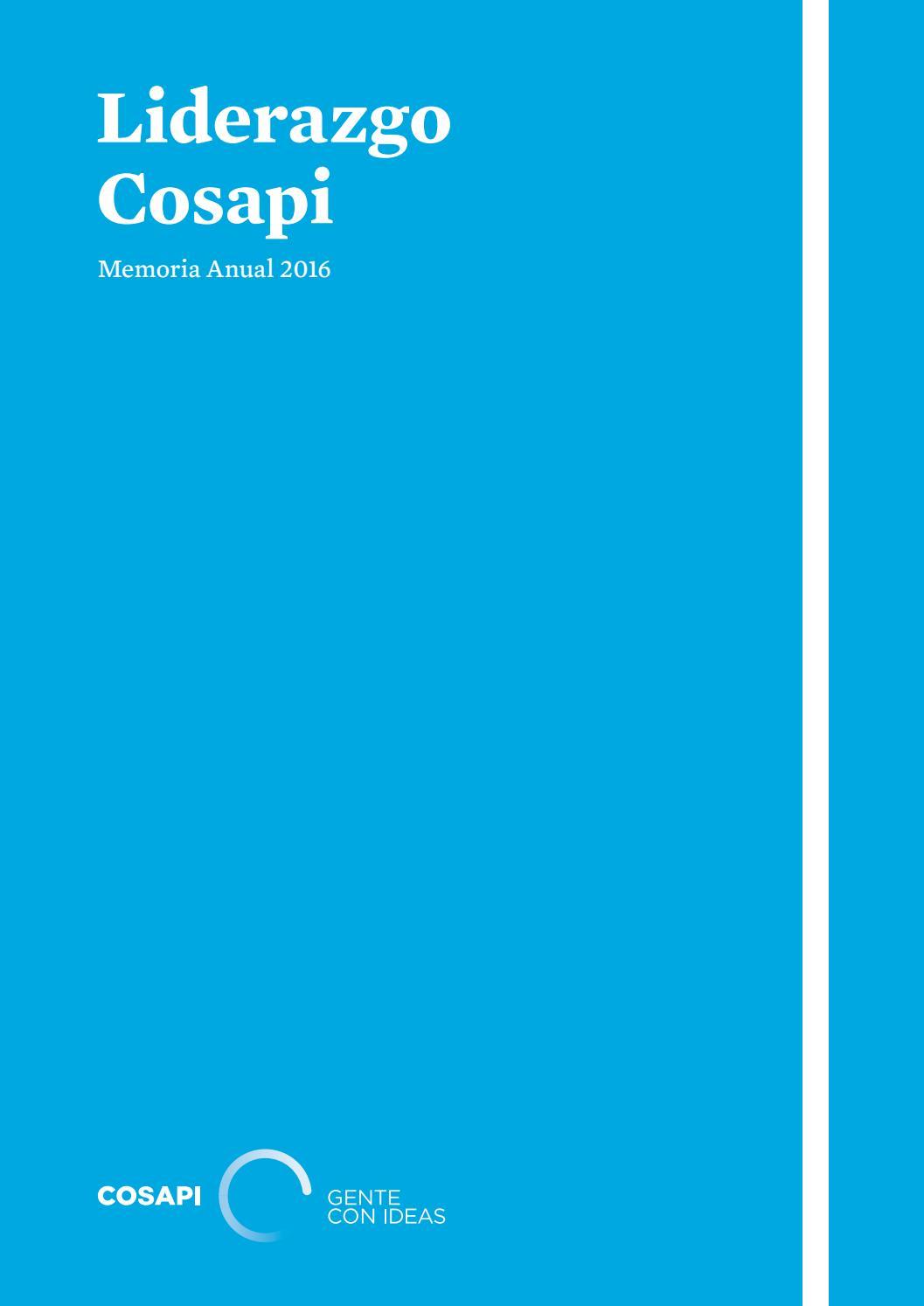 Memoria Anual Cosapi 2016 by Cosapi - issuu