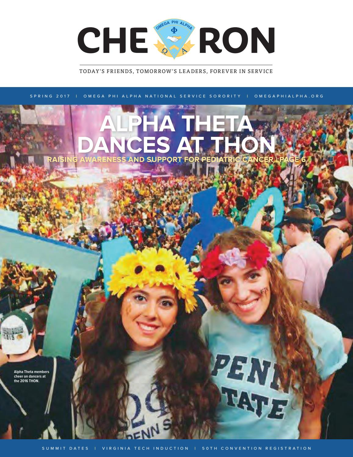 chevron spring2017omega phi alpha national service sorority - issuu