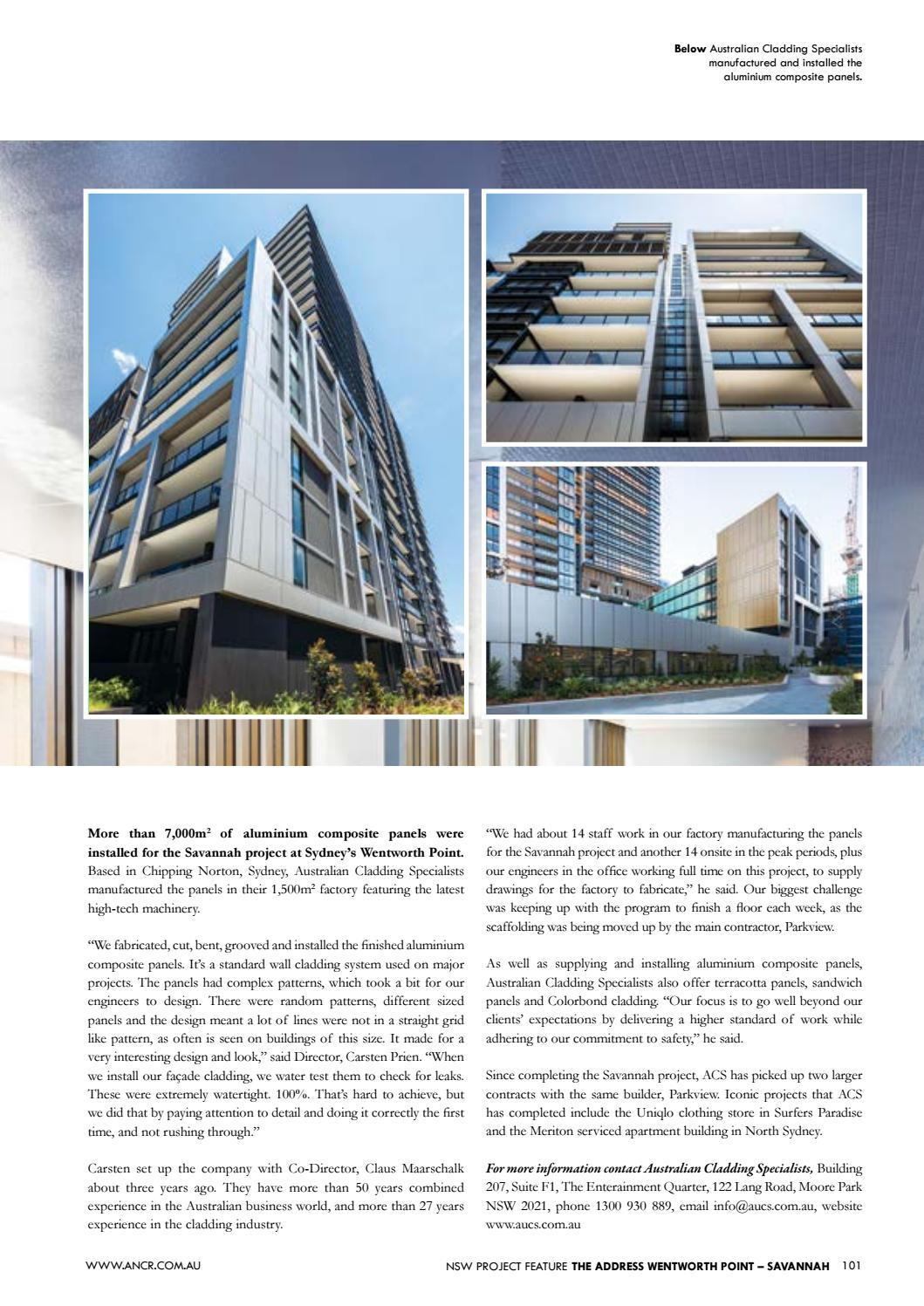 37d4bc7e6a9e5 Australian National Construction Review by Trade Media Group Ptd Ltd - issuu