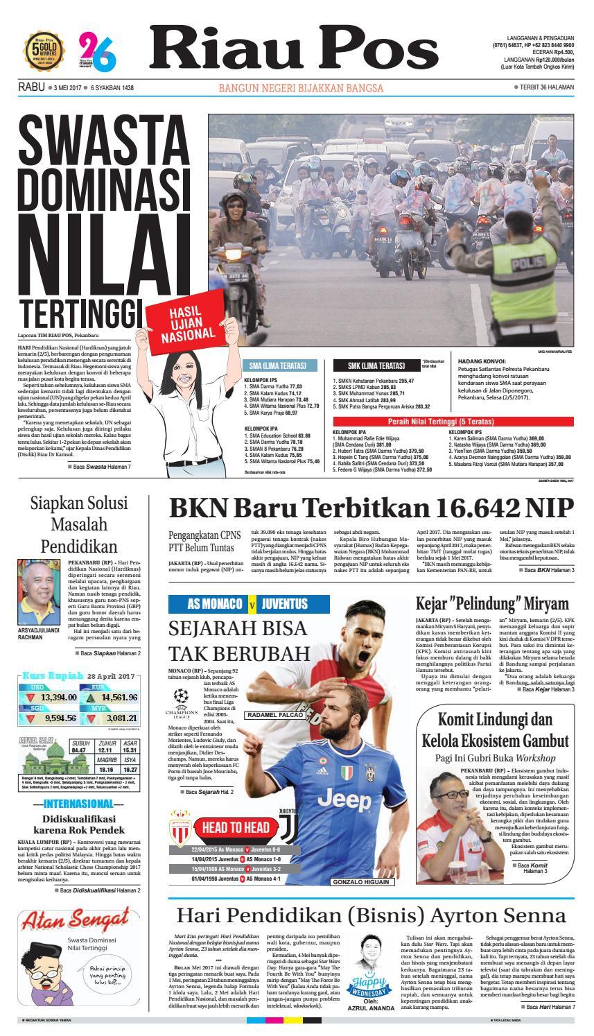 2017 05 03 By Riau Pos Issuu Kemeja Anak Tangan Panjang Stripe Hitam Putih Rsby 2829