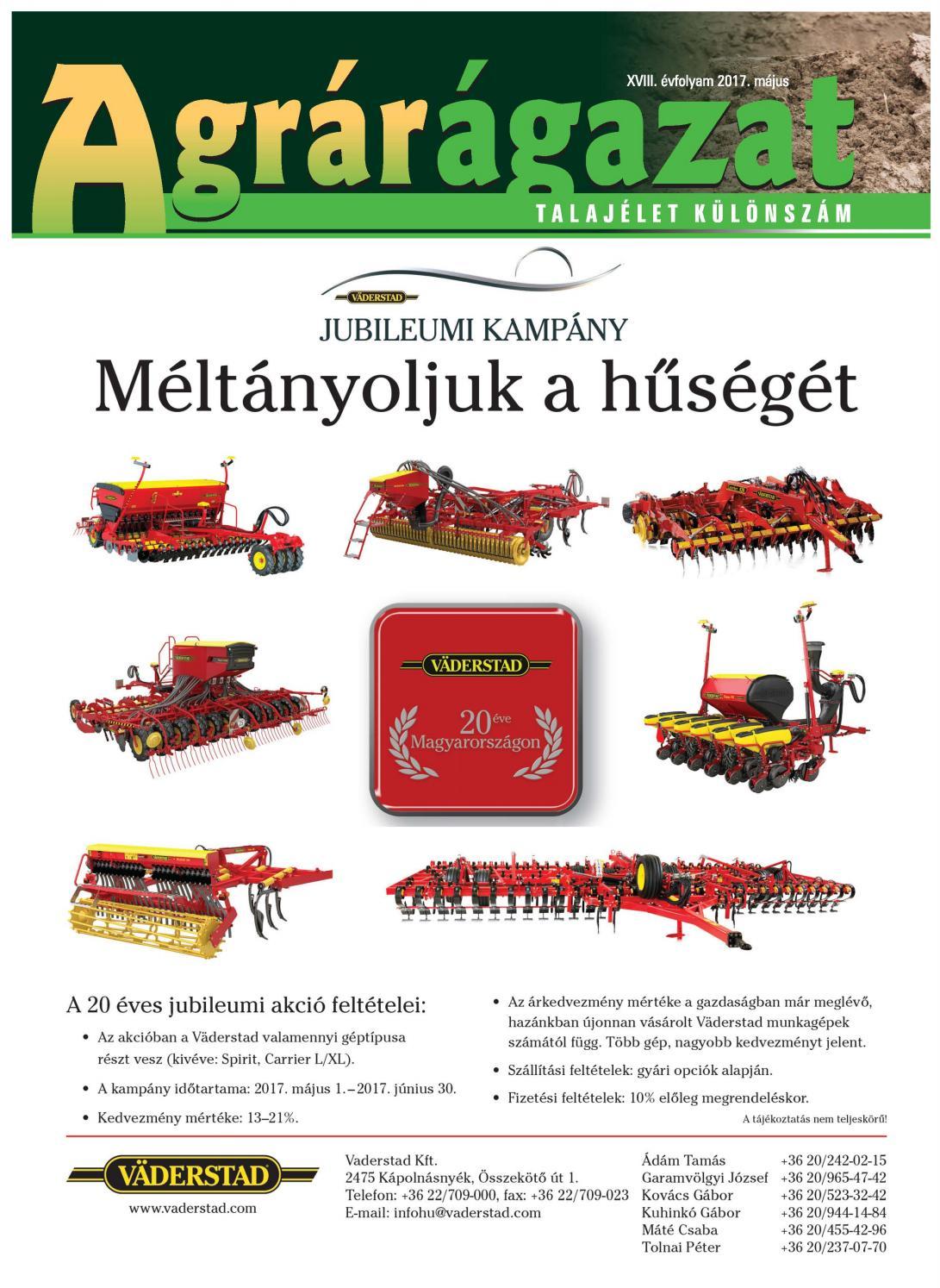 Agrárágazat 2017 Talajélet különszám by Horizont Média Kft. - issuu 611ee6423f