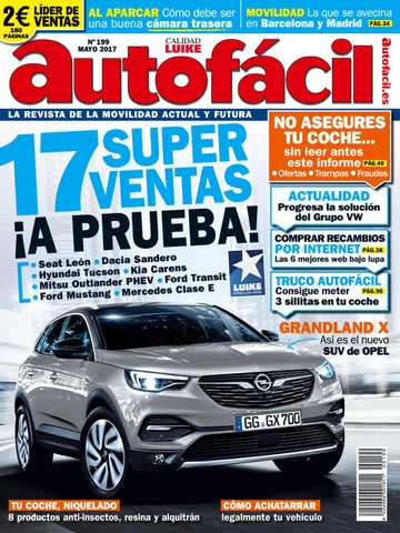 outlet store 35d1d 28cbc Autofácil Nº 199. Mayo 2017 by LIDER - issuu