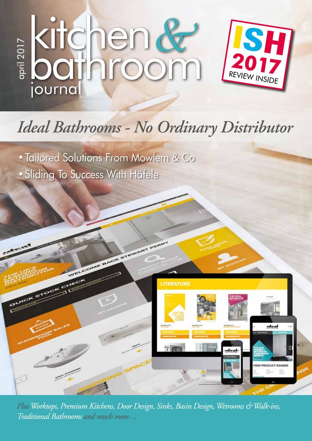 Kitchen & Bathroom Journal April 2017 by Craftsman Publishing Co Ltd ...