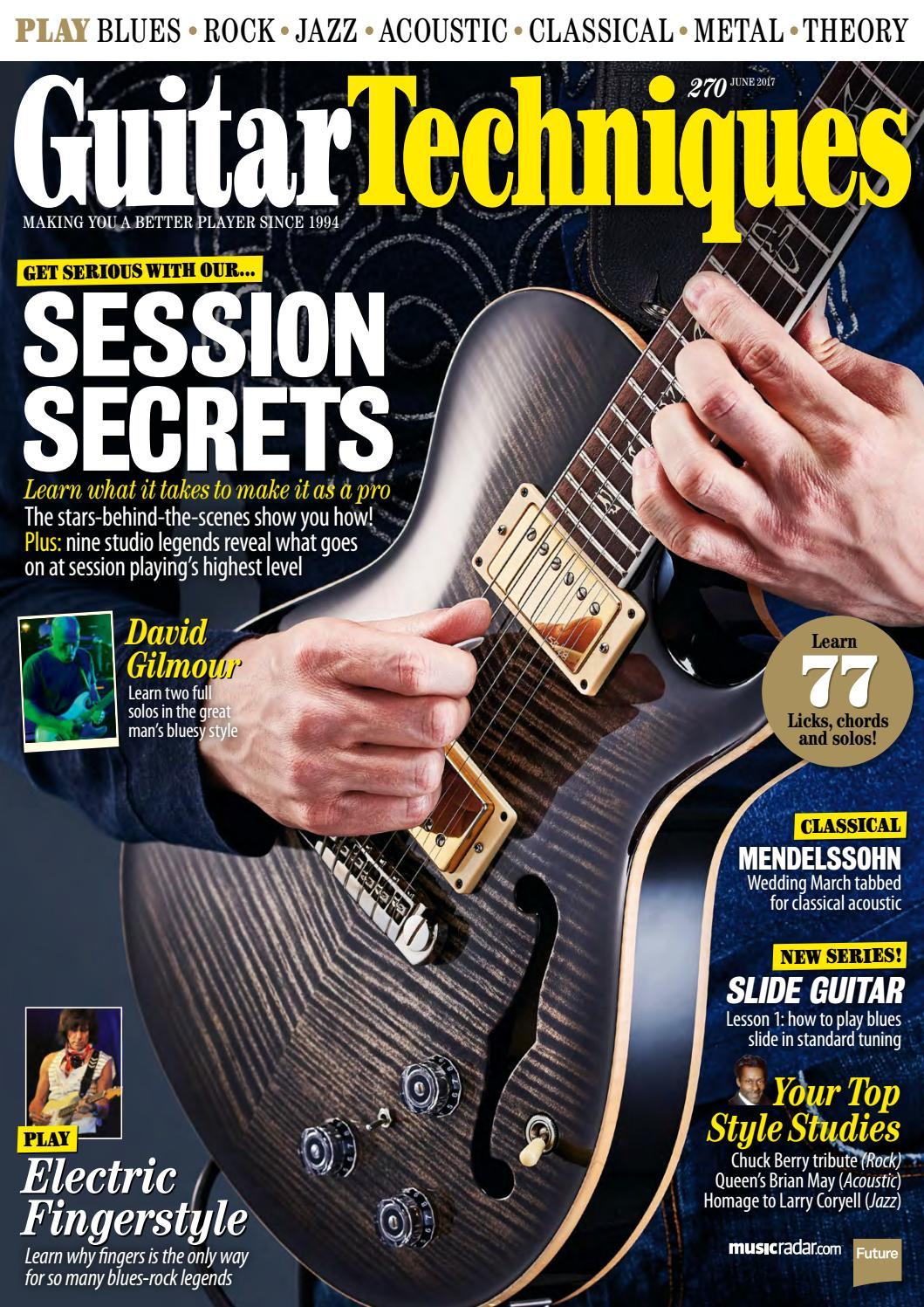 Guitar Techniques 270 Sampler By Future Plc Issuu