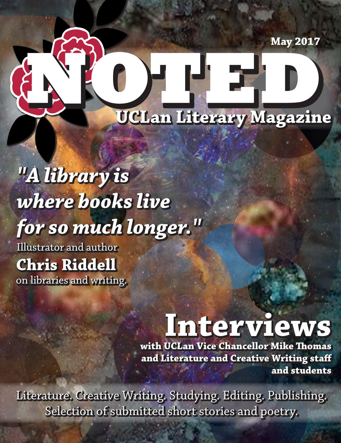 UCLan Noted Magazine May 2017 By