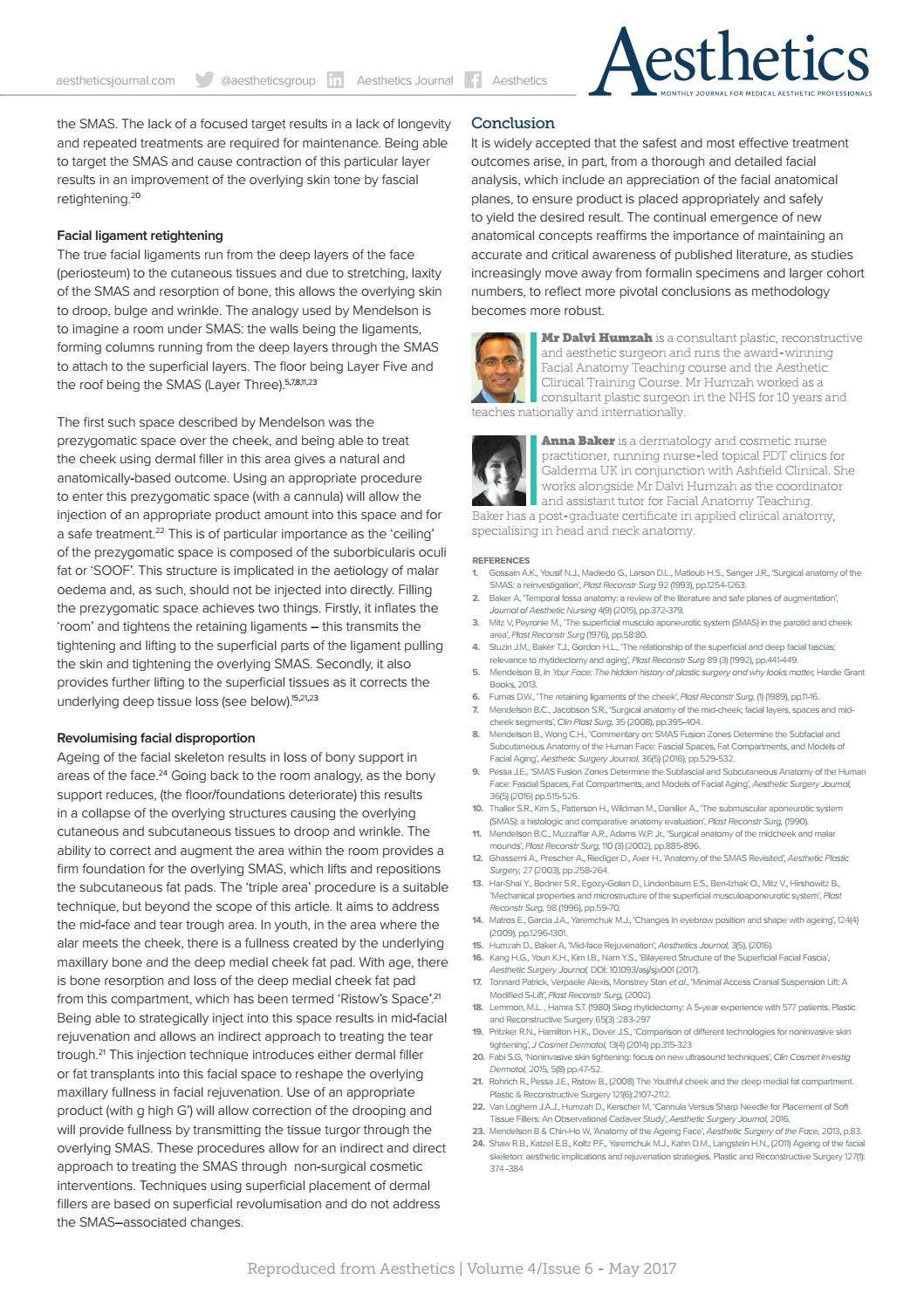 Aesthetics May 2017 By Aesthetics Journal Issuu