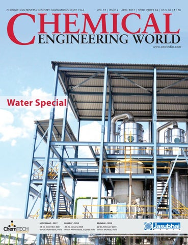 Chemical Engineering World April 2017 By Chemical Engineering