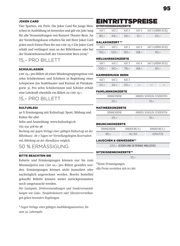 Atemberaubend Konzertprogramm Vorlage Ideen - Entry Level Resume ...