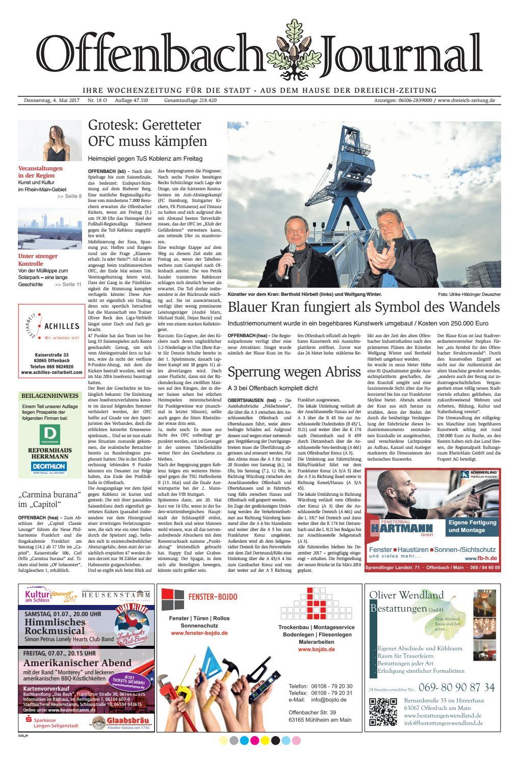 0405 Ojo Web By Dreieich Zeitung/Offenbach Journal   Issuu