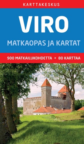 Viro Matkaopas Ja Kartat By Regio Issuu