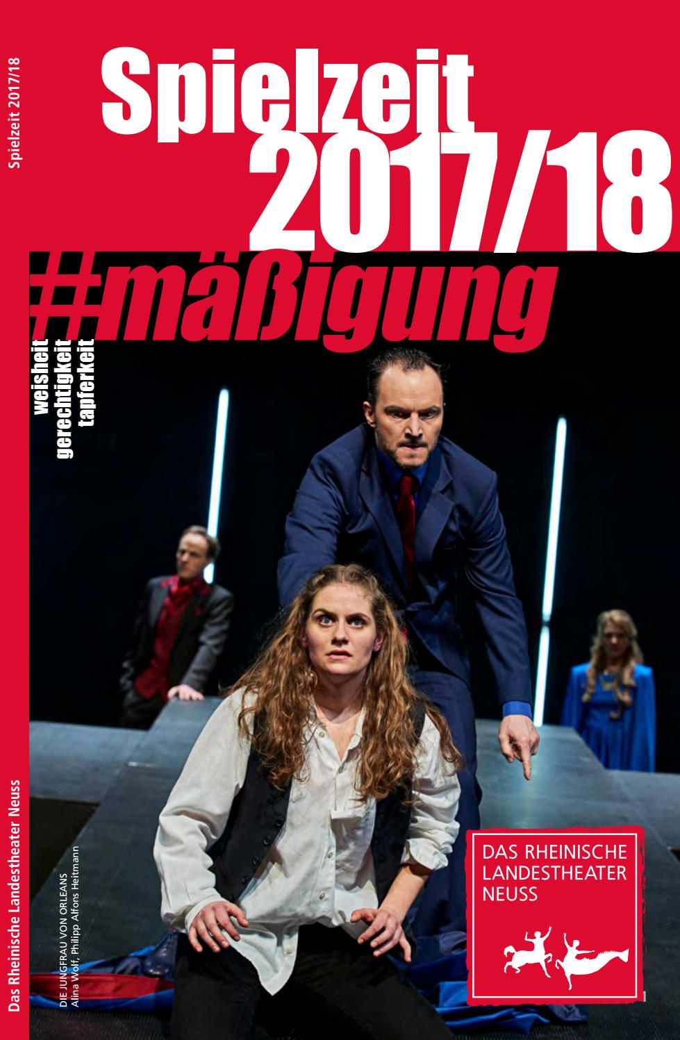 Spielzeitheft 2017/18 by Rheinisches Landestheater Neuss - issuu