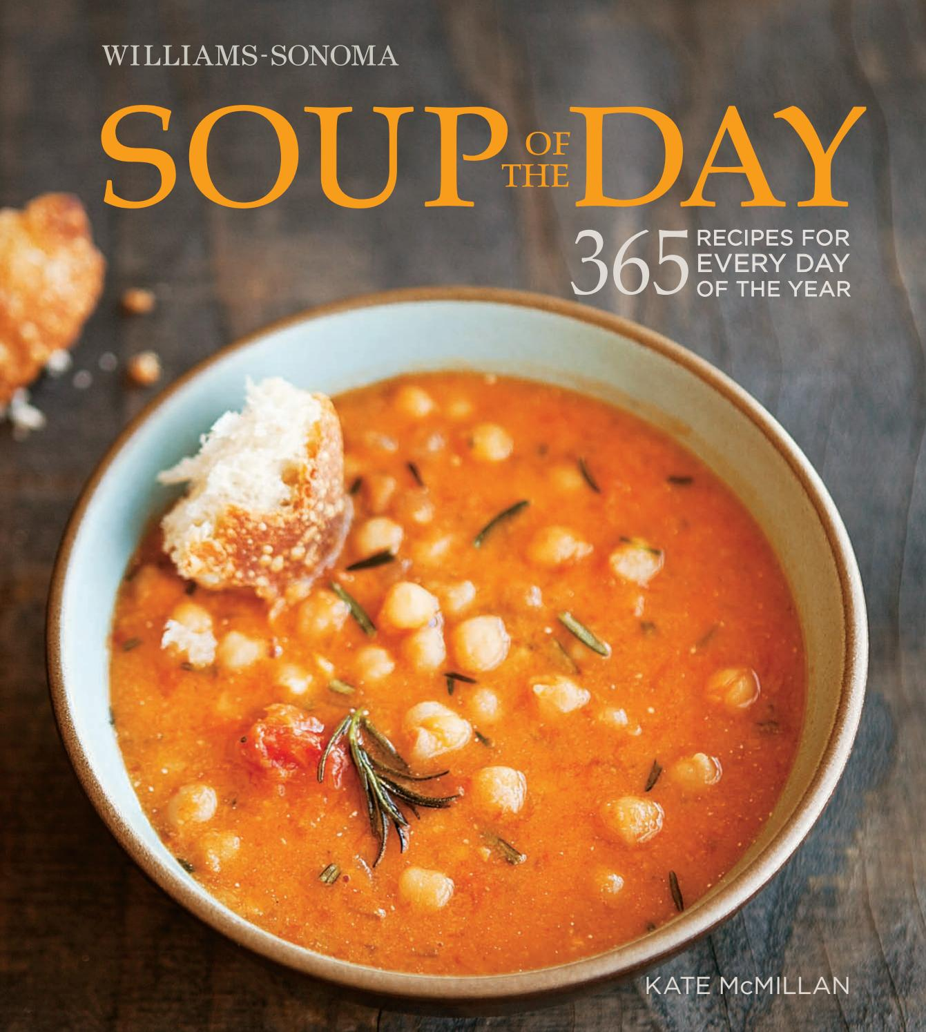 Williams Sonoma Soup Of The Day By Maribel Vega Issuu