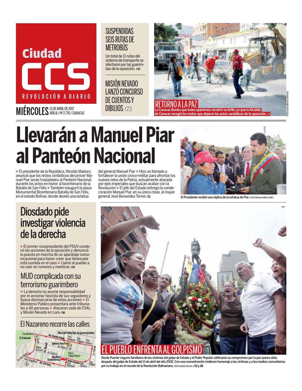 12/04/17 by Ciudad CCS - issuu