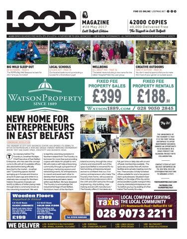 Loop Mag East Belfast May 2017 By Loop Publications Issuu