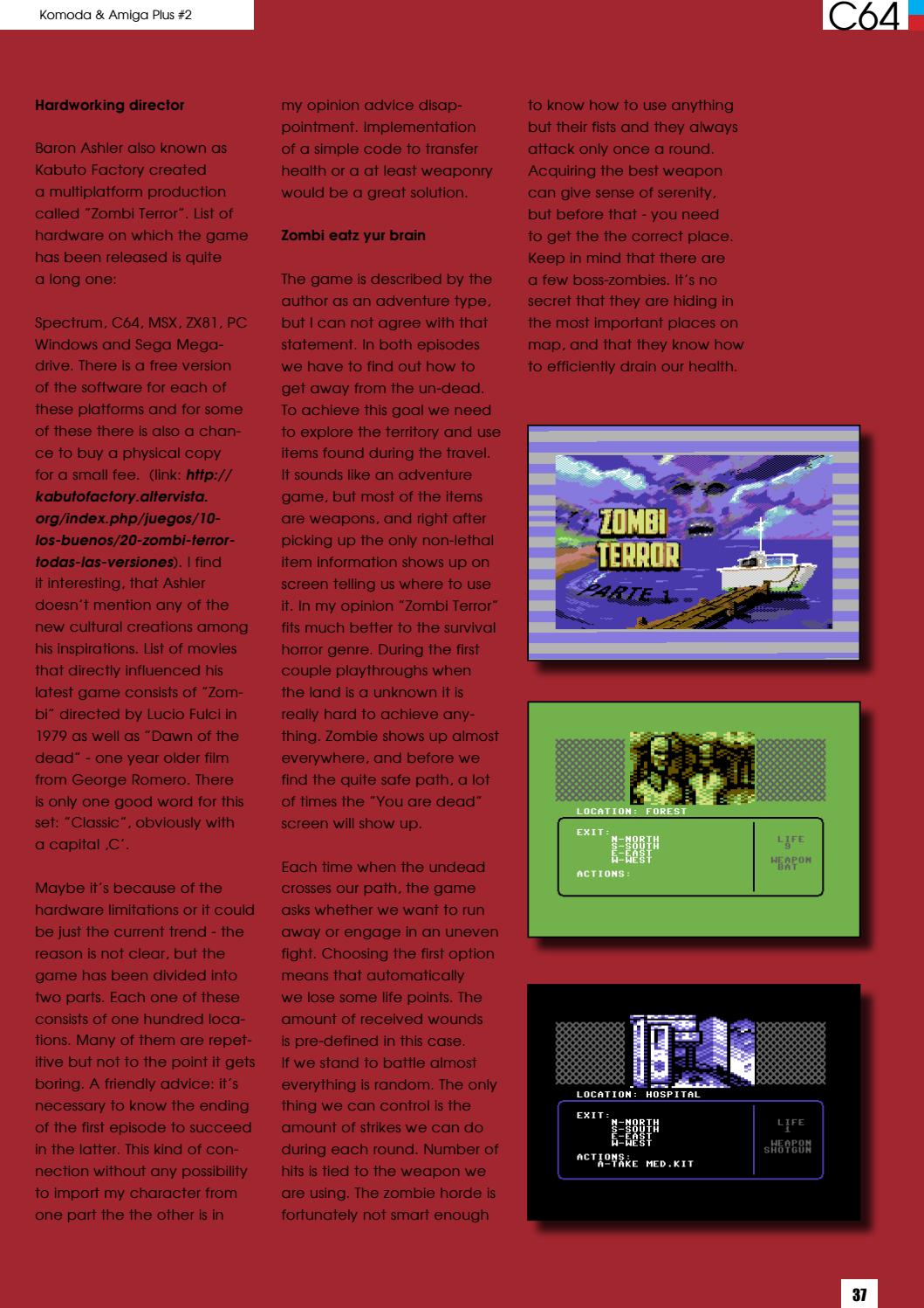 Komoda & Amiga plus #02 [ENGLISH edition] by Komoda and Amiga plus