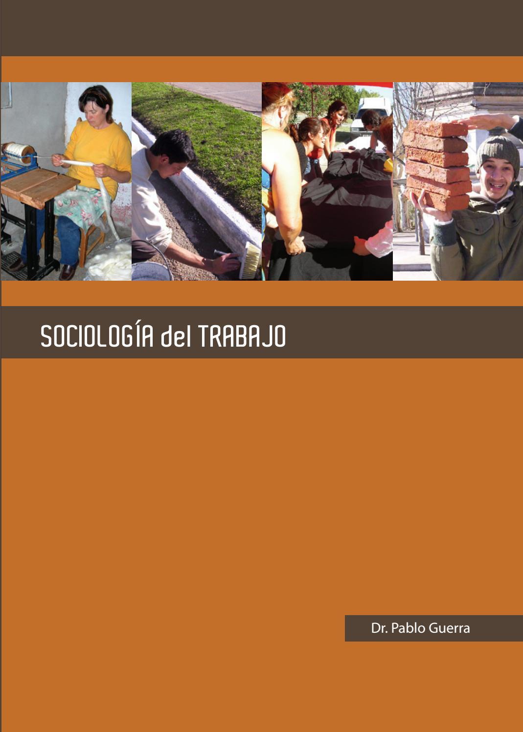 Sociología del Trabajo by matilez - issuu