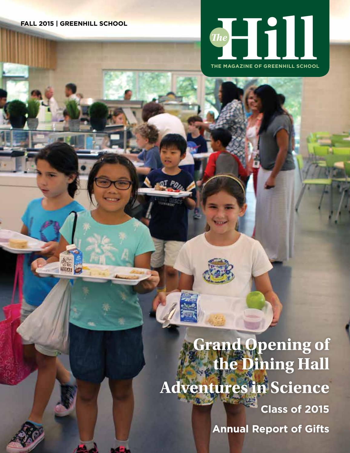 The Hill 2015 2016 Fall By Greenhill School Issuu Clip of marcus parks' song trlt.mp3. greenhill school