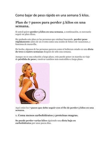 Como bajar de peso haciendo dieta y ejercicio image 4