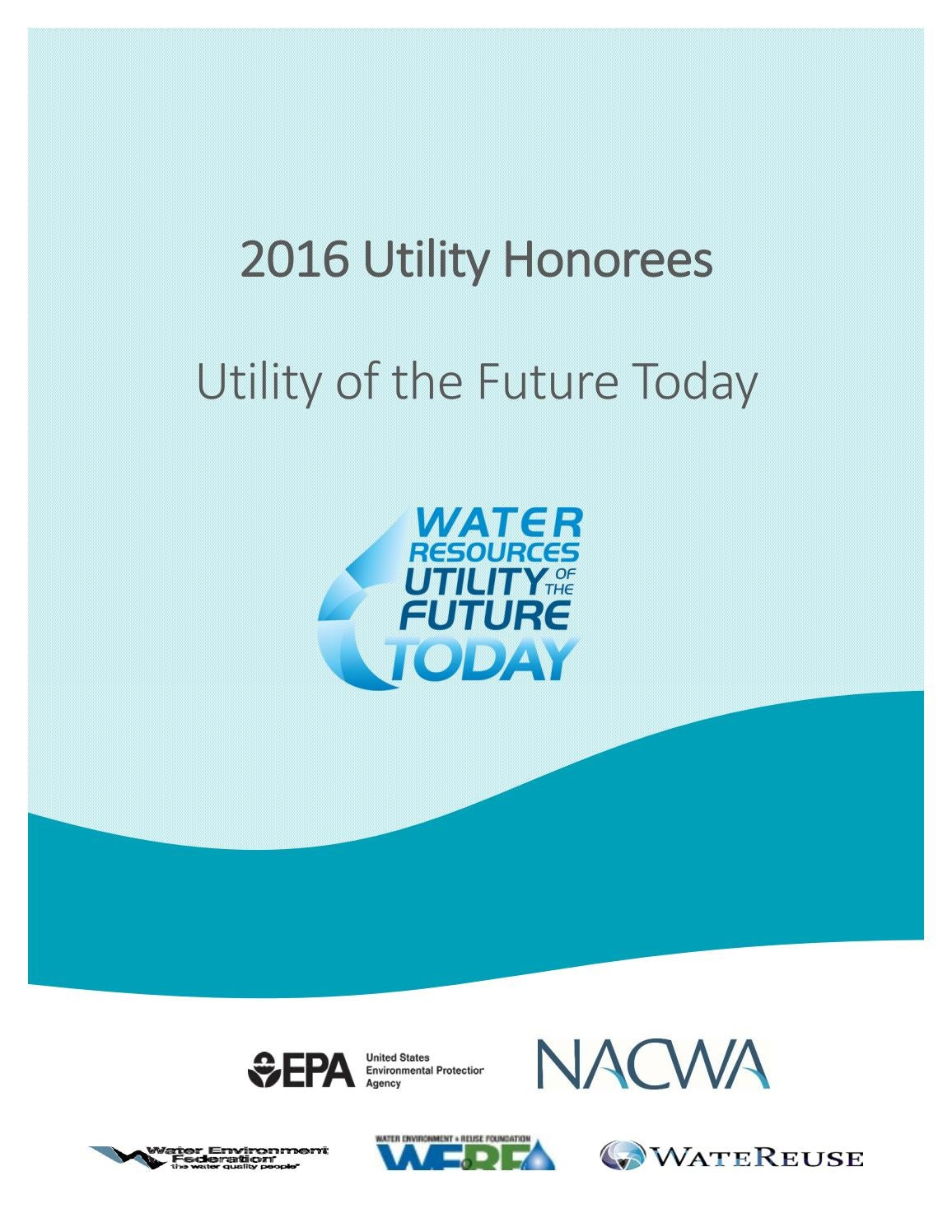 da4f461575a7 2016 UOTF Today Honorees by NACWA - issuu