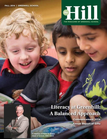 The Hill 2014 2015 Fall By Greenhill School Issuu