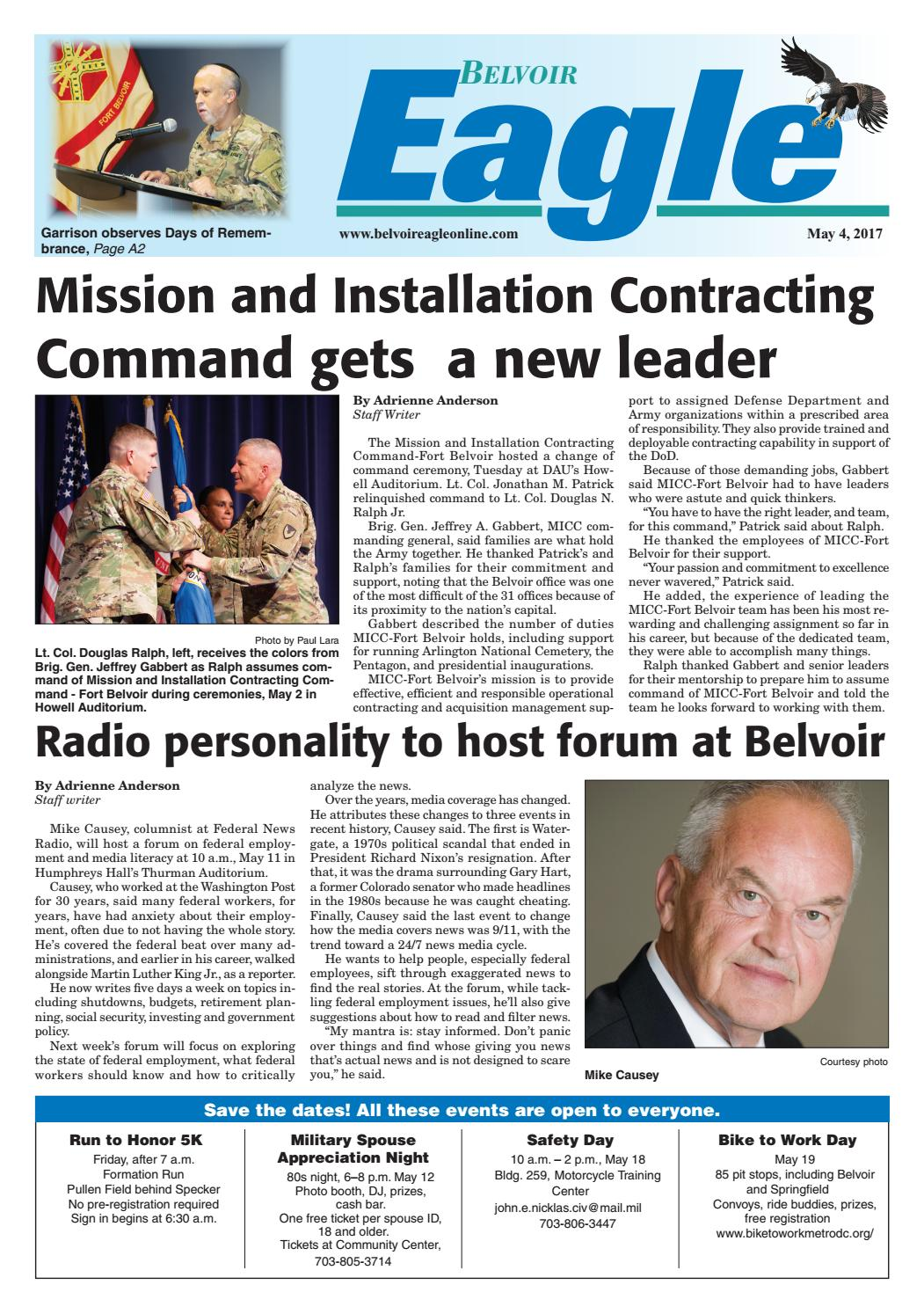Belvoir Eagle May 4 2017 By Insidenova Issuu Penfed Wiring Instructions