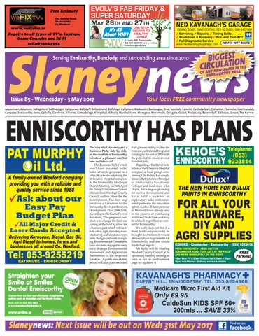 Slaney News, Issue 85, May 2017