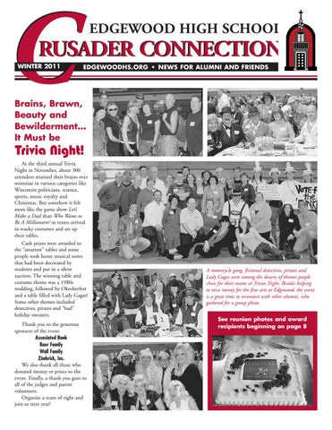 Crusader Connection Winter 2011 by Edgewood High School - issuu