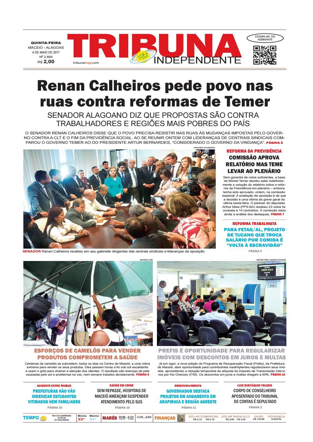39c4da4cfb98b Edição número 2890 - 4 de maio de 2017 by Tribuna Hoje - issuu