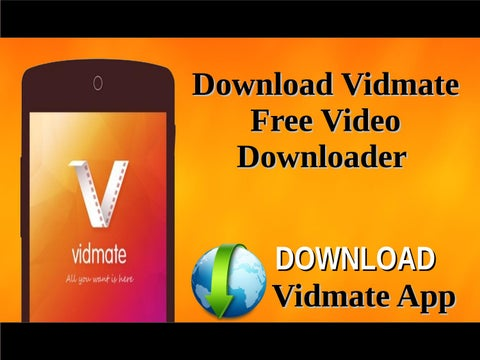 vidmate app free download for android mobile 2017